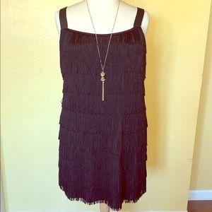 1920s-style Fringe/Flapper Dress